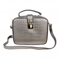 Henna Crossbody Silver | ButterField