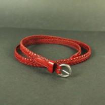 Rubie Woven Belt Red | LotusTing