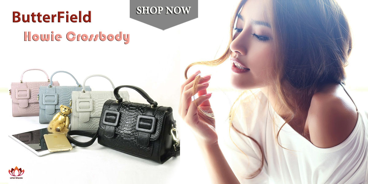 Magnificent Butterfield Howie Crossbody at Lotusting eShop