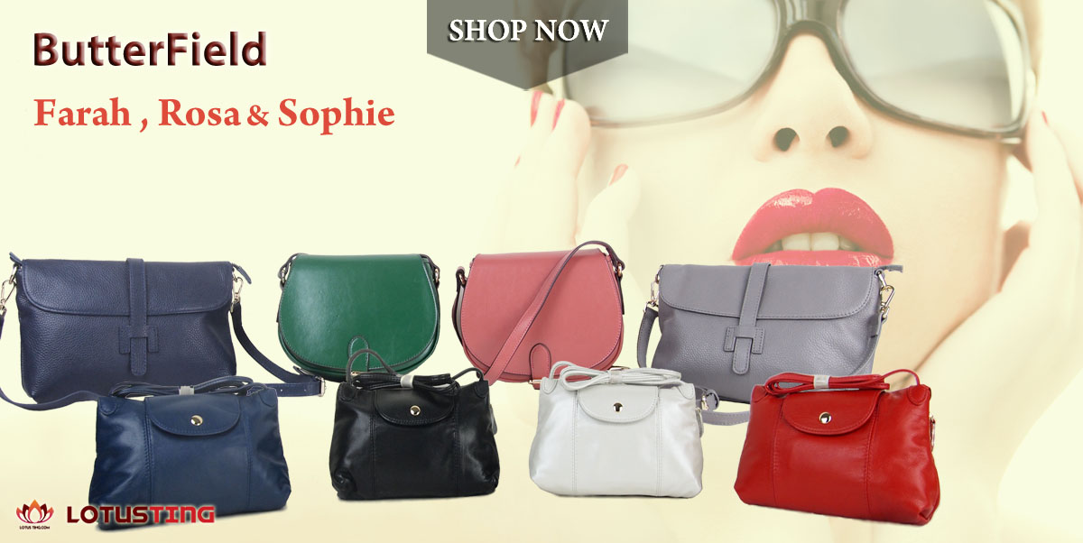 Splendid ButterField Rosa and Farah Crossbody at Lotusting eShop