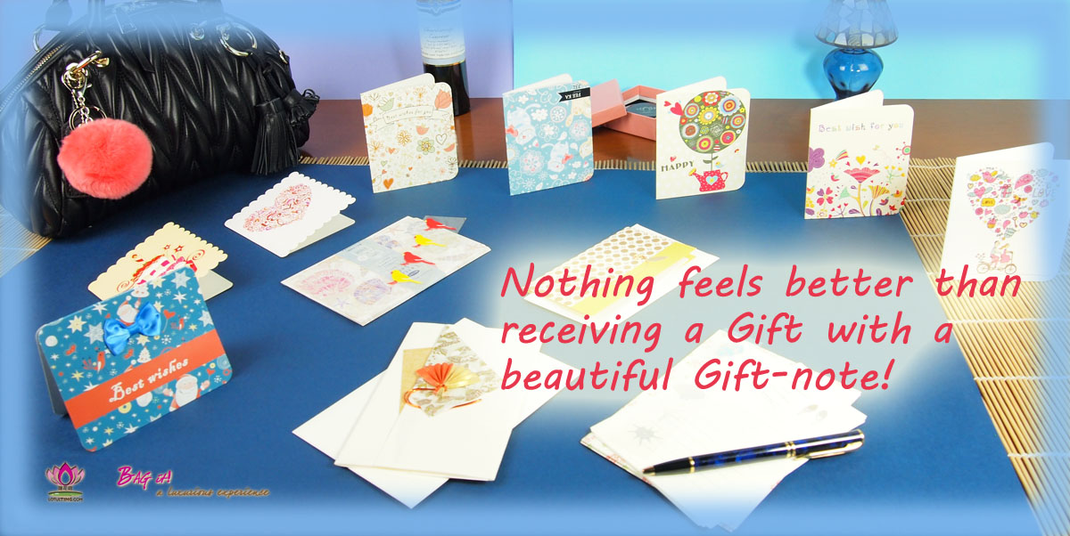 Lotusting Gift-note Card Promotion