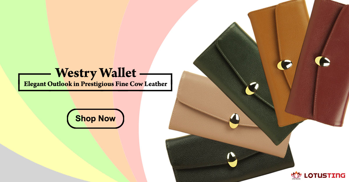 Fabulous Lotusting Vegetable Leather Westry Wallets at Lotusting eStore