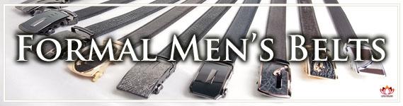 Men's Formal Leather Belts at Lotusting Shop