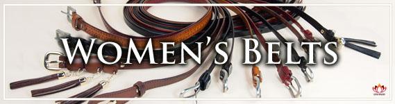 Women's Leather Belts at LotusTing eShop