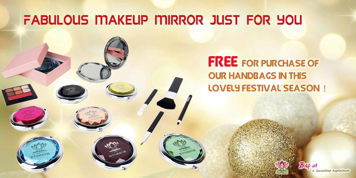 Lotusting FREE Makeup Mirror Promotion