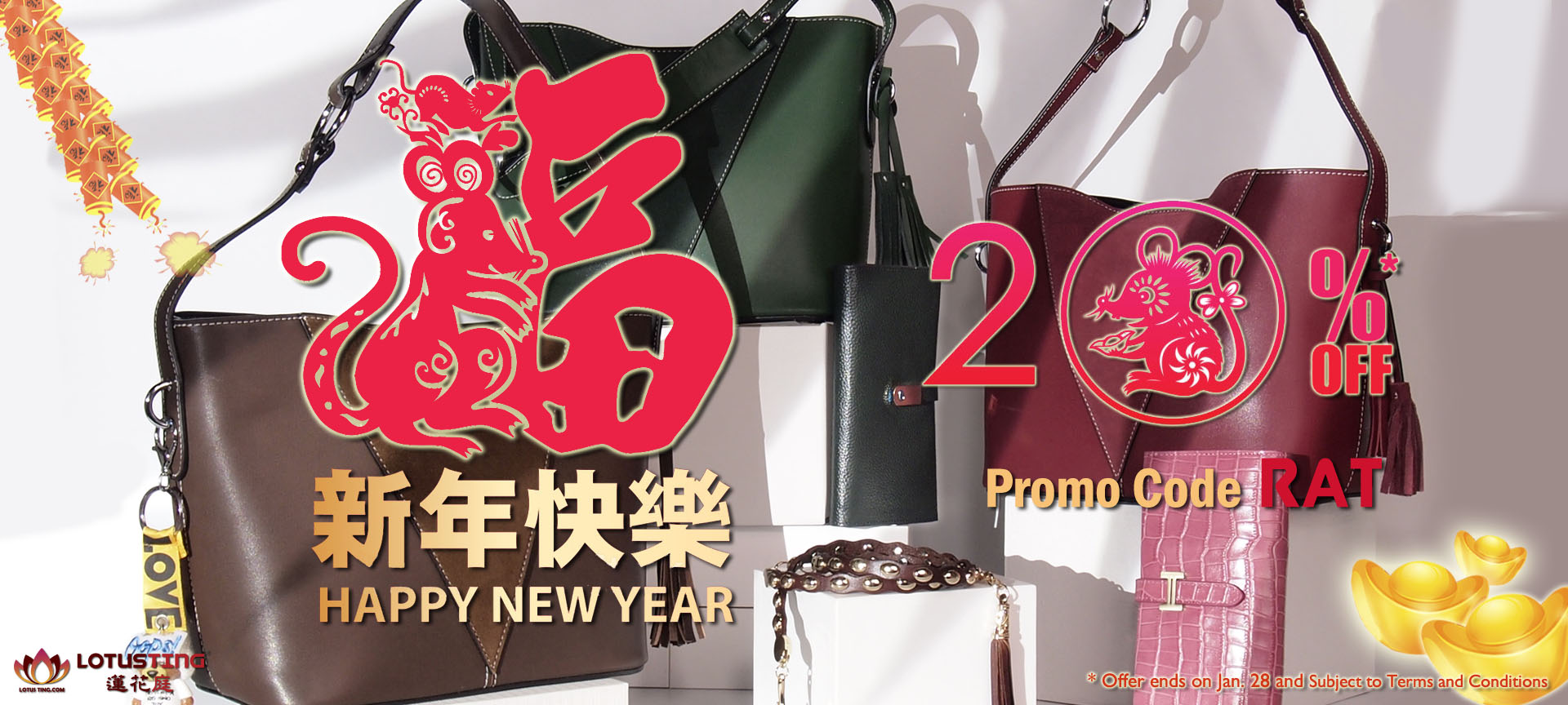 Best Chinese New Year Gifts at Lotusting Genuine Leather Bags