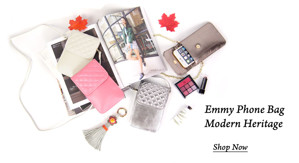 Splendid Modern Heritage Emmy Phone Bag at Lotusting eShop