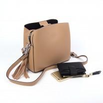 Sheryl Shoulder Bag Beige   Modern Heritage