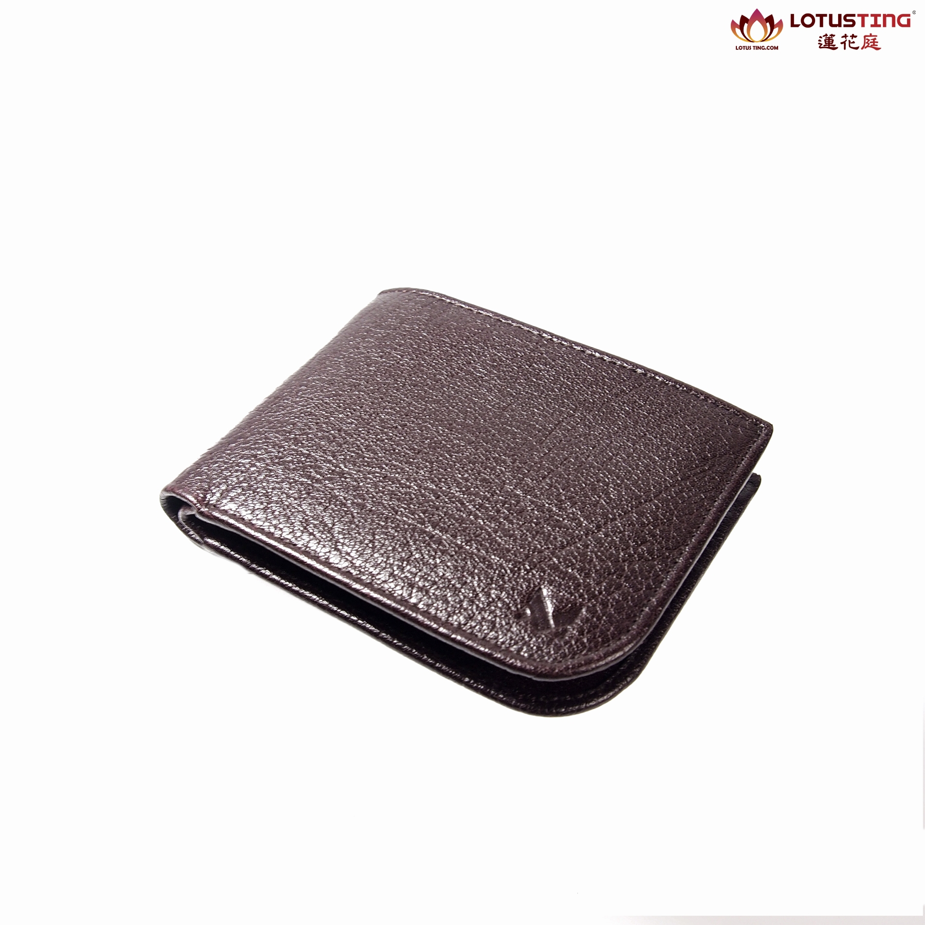 MIAJEES Slim Bifold Curve Wallet Front View