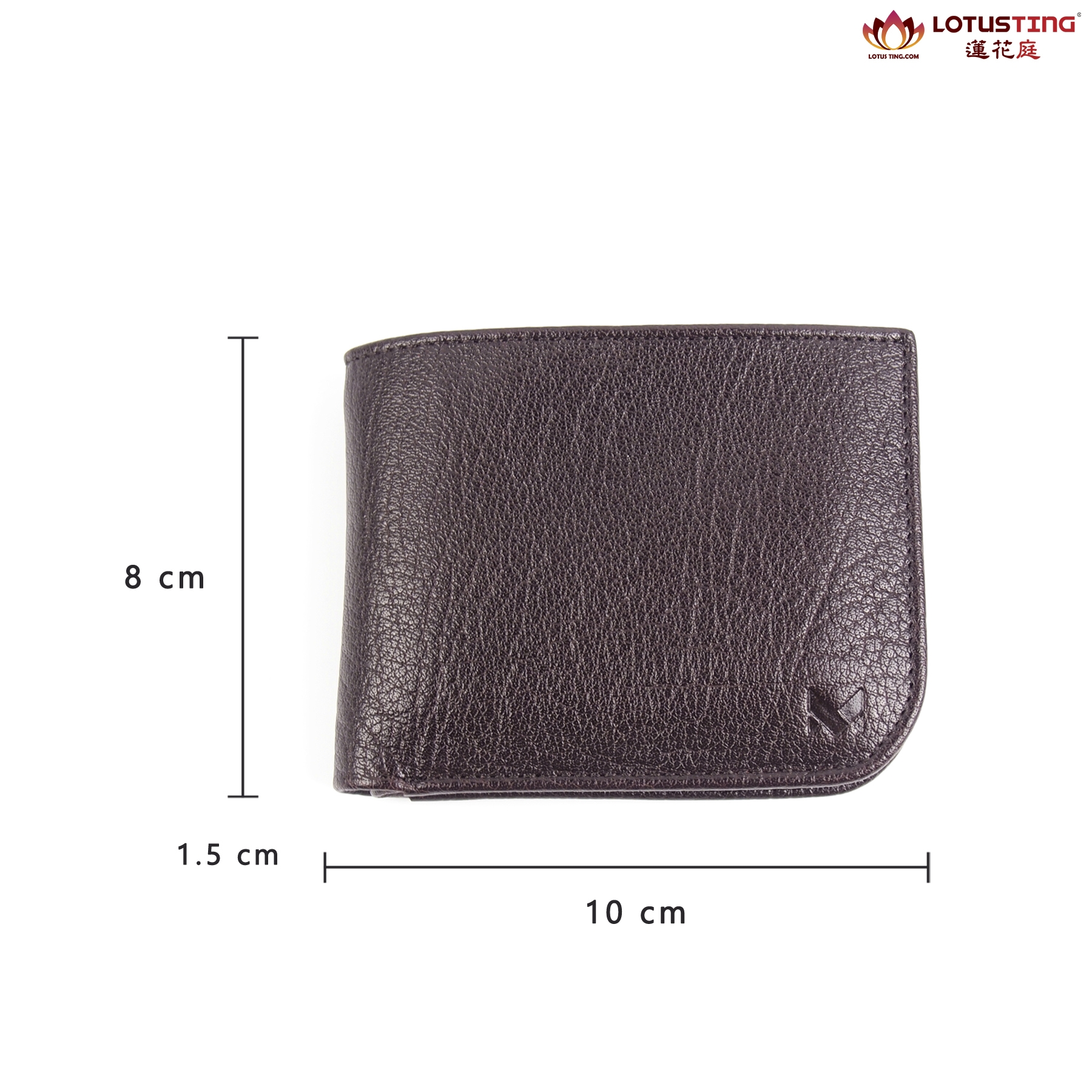 MIAJEES Slim Bifold Curve Wallet Dimensions