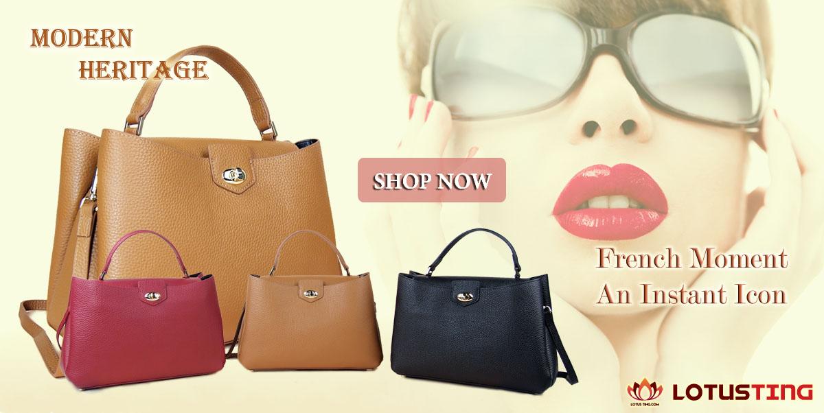 The Gorgeous Modern Heritage Klara Top Handles at Lotusting Singapore Online Shop