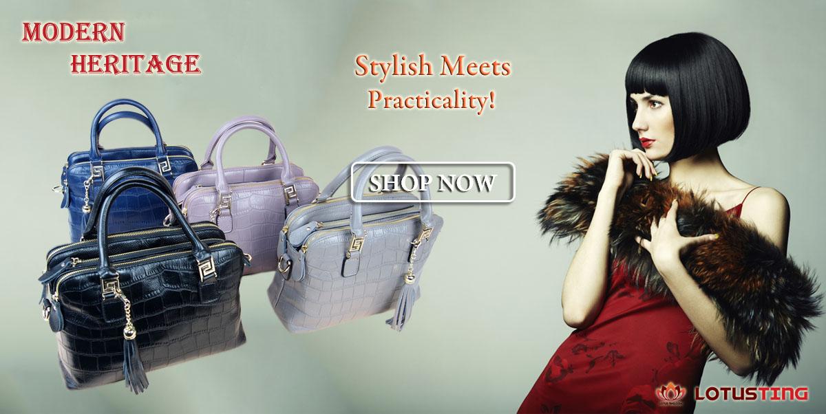 The Magnificent Modern Heritage Nikki Top Handles at Lotusting Singapore Online Shop