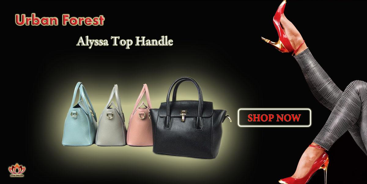 The Elegant Urban Forest Alyssa Top Handles at Lotusting Singapore Online Shop