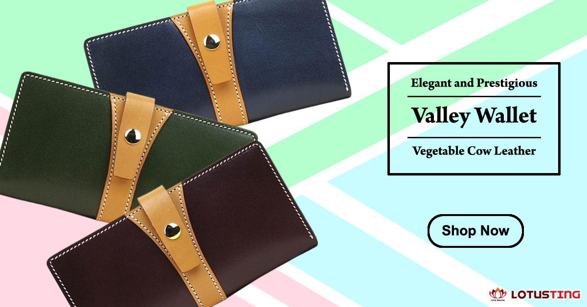 Fabulous Lotusting Vegetable Leather Valley Wallets at Lotusting eStore