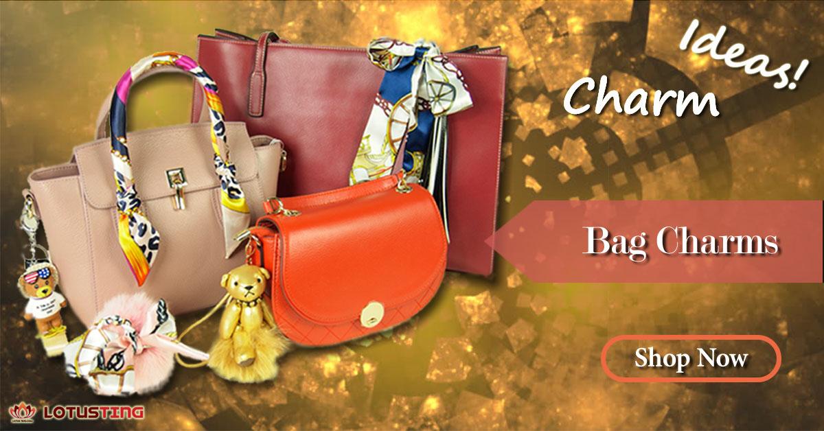 Bag Charms for Fashionable Uplift at Lotusting eShop Hong Kong