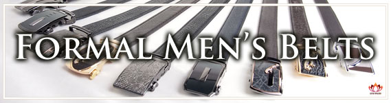 Men's Formal Leather Belts at Lotusting Shop