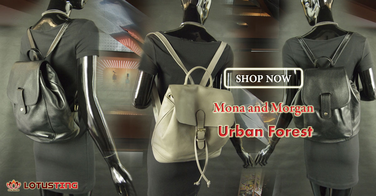 Fabulous Urban Forest Morgan and Mona Backpacks at Lotusting eStore
