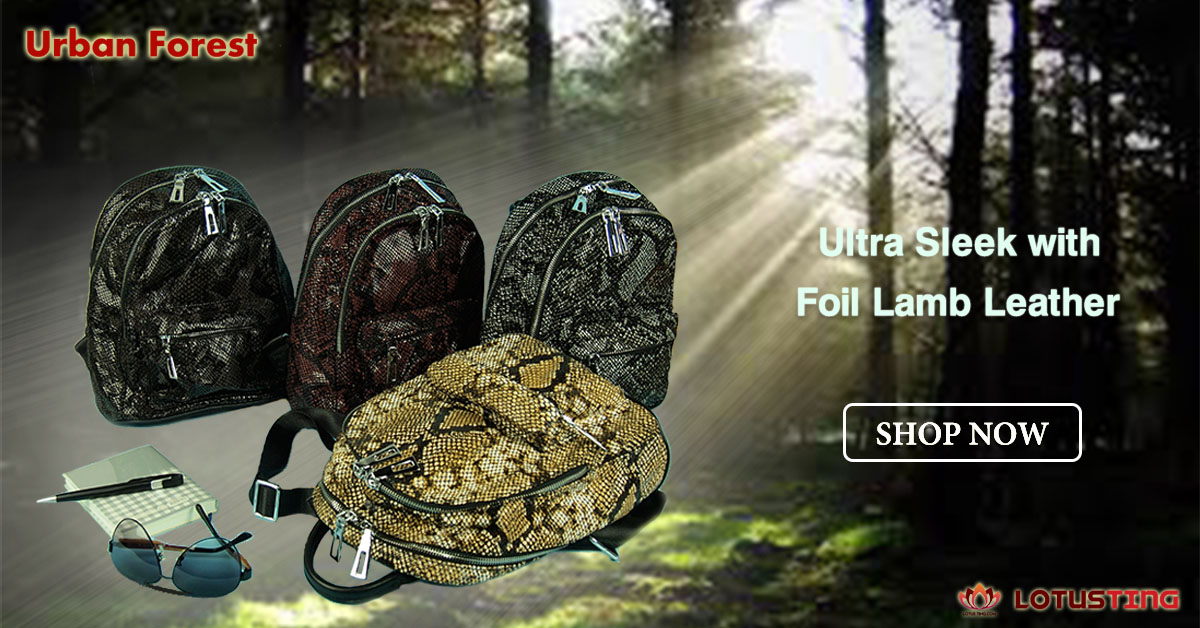 Splendid Urban Forest Bahar Backpacks at Lotusting eStore