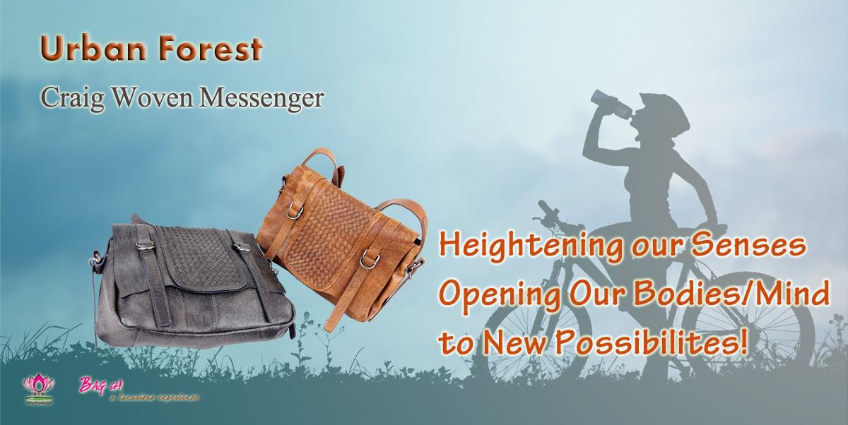 Fabulous Urban Forest Craig Messenger Handbags at Lotusting eStore